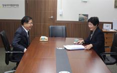 법률구조공단 이헌 이사장님의 양육비이행관리원 방문