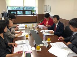 일본 와세다대학 다나무라 마사유키 교수님과의 간담회